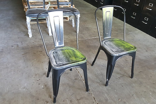 Pair of Metal Chairs
