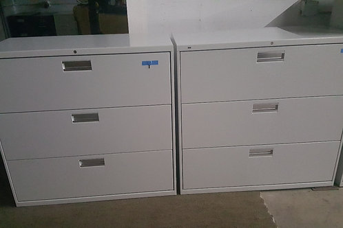 Hon 3 Drawer Lateral Files
