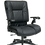 Thumbnail: Black Bonded Leather Conference Chair