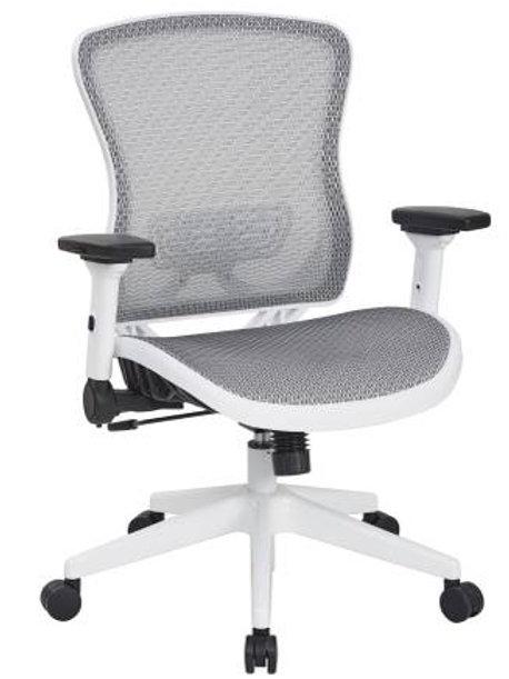 White Breathable Mesh Chair