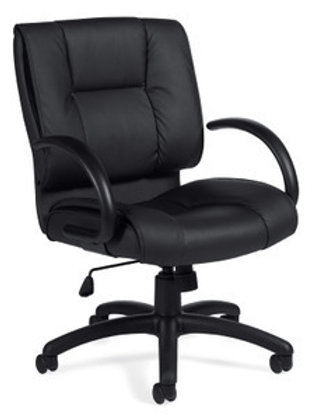 Black Luxhide Executive Chair