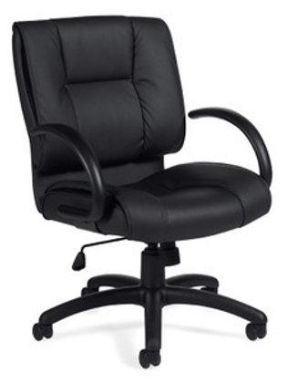 Black Luxhide Executive Chair