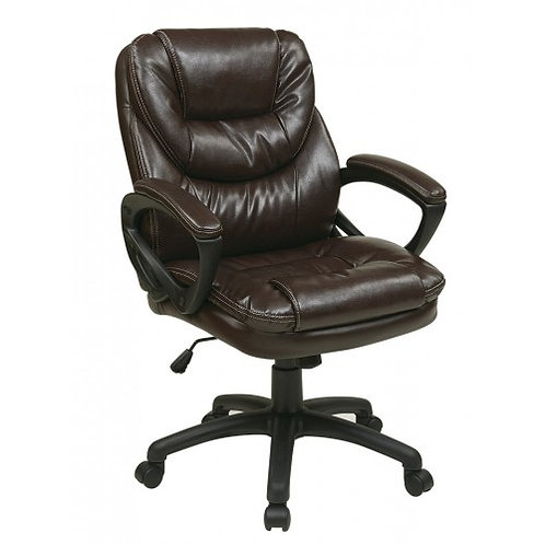 Faux Leather Managers Chair