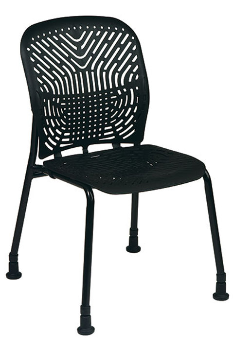 SpaceFlex Seat and Back Visitors Chairs (2 pack)
