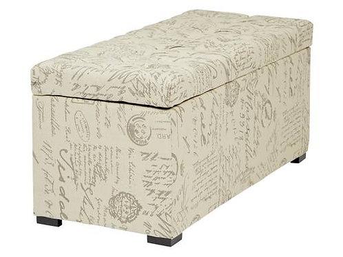 Tufted Storage Ottoman