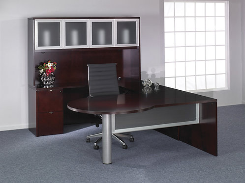 Kenwood U Shape Desk with Hutch