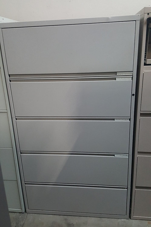 Meridian Five Drawer Lateral