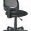 Thumbnail: Screen Back Task Chair with Black Fabric Seat