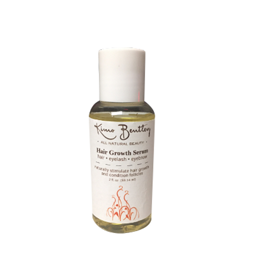 Natural Hair Growth Serum