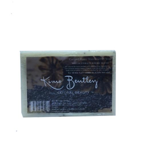 Coconut Poppy Soap 4 oz.