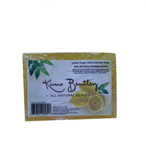 Lemon Sugar Soap 4 oz.