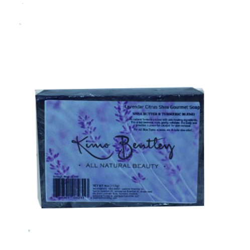 Lavender Citrus Soap 4 oz.