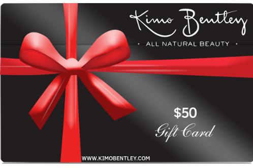 Kimo Bentley E-Gift Card