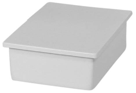 Dental Junction Box with Lid Surface Mounted - Gray