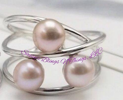 *RaeLynn's Triple Pearl Ring
