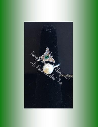 *Butterfly W/Jewel Ring