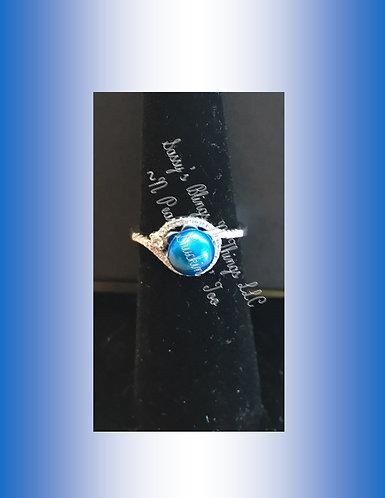*Ring w/Pearl & Jewels