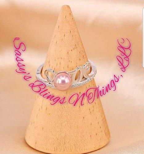 *Sassy's Love Ring W/ Bottom Jewels
