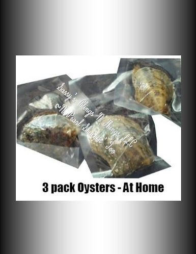 Jo's Paradise Pearls 3-Pack of Oysters (3)
