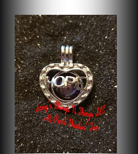 *SASSY'S HOPE HEART CAGE (SP)
