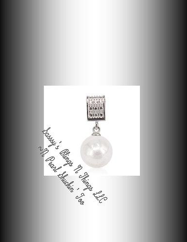 *Elegant Pearl Drop Pendant
