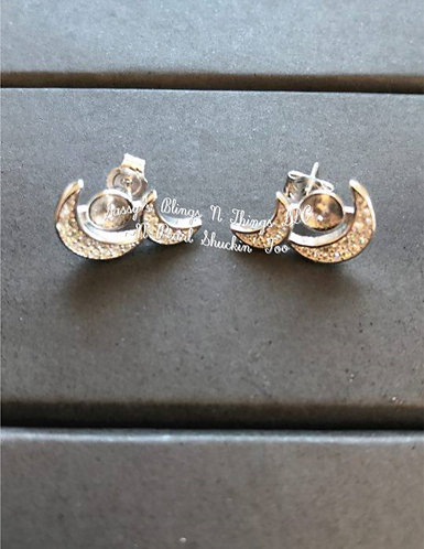 *Silver Moon Sisters Earrings