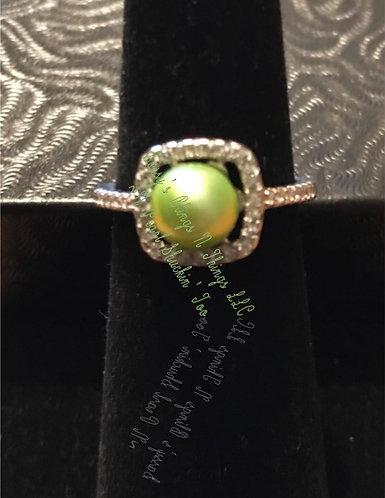 *Square Jewel Ring