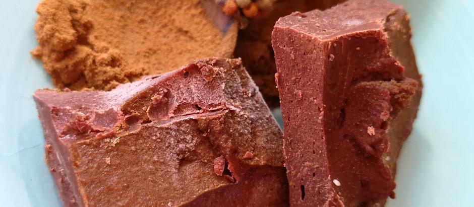 Rååååå sjokolade med rålakris....aldeles nydelig <3