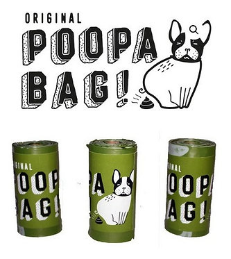 45 Bolsas Biodegradables POOPA BAG