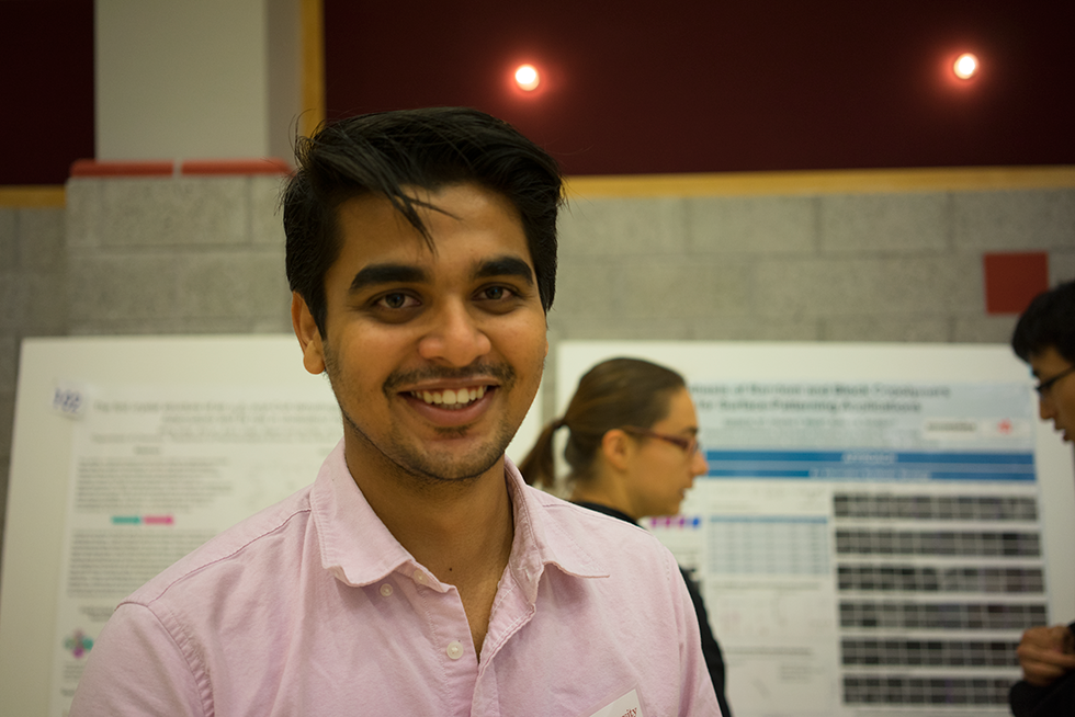 Pratik @ Chemistry Research Day 2014