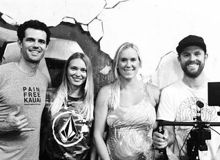"Behind the Scenes: ""UNSTOPPABLE"" Bethany Hamilton's documentary"