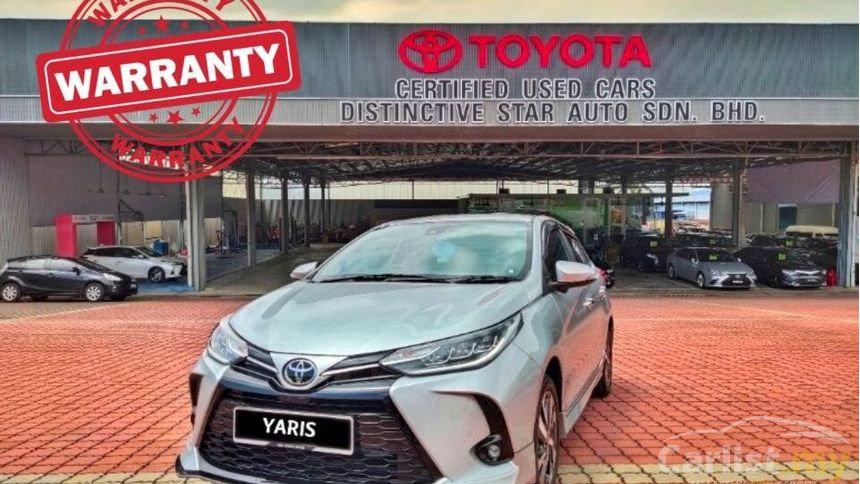 TOYOTA YARIS 1.5G FACELIFT (AT) - 2020
