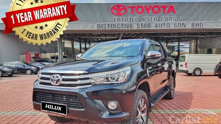 TOYOTA HILUX DOUBLE CAB 2.8G (AT)- 2017