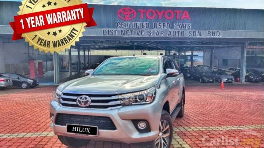 TOYOTA HILUX DOUBLE CAB 2.8G AT - 2016