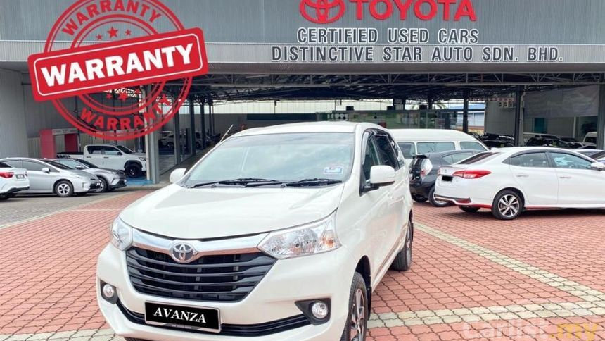 TOYOTA AVANZA 1.5G (AT)-2018