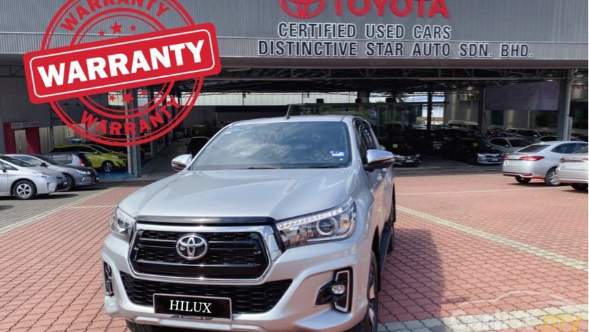 TOYOTA HILUX DOUBLE CAB 2.8LE AT