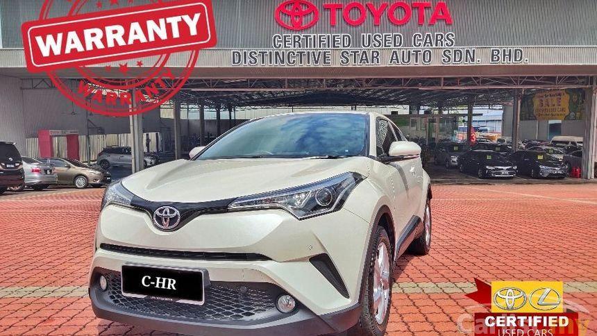 TOYOTA C-HR 1.8L (AT) - 2018