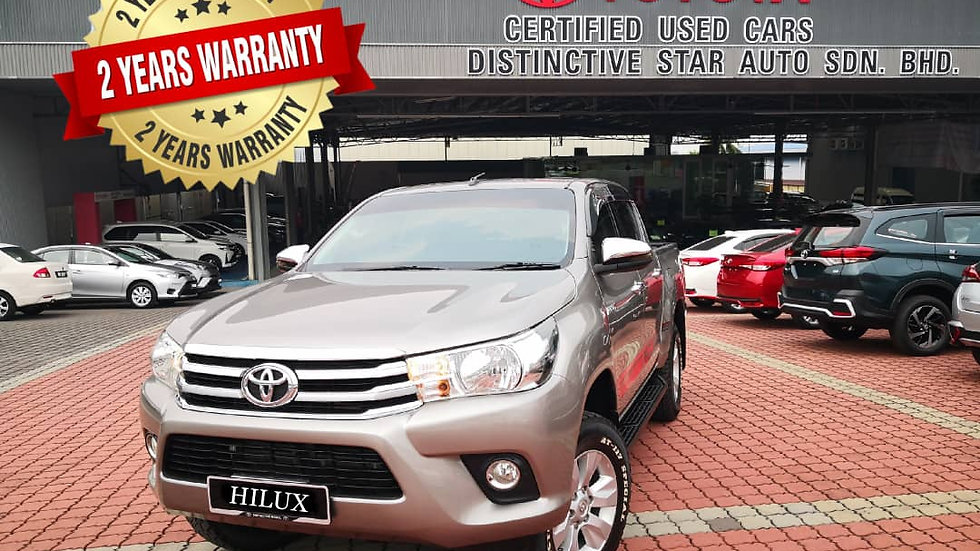 TOYOTA HILUX DOUBLE CAB 2.4G AT - 2017