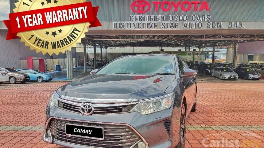 TOYOTA CAMRY 2.0GX (AT) - 2017