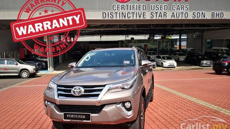 TOYOTA FORTUNER 2.7 AT 4x4 - 2017