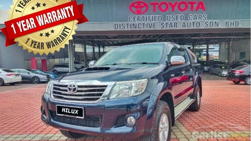 TOYOTA HILUX DOUBLE CAB 2.5 AT- 2014