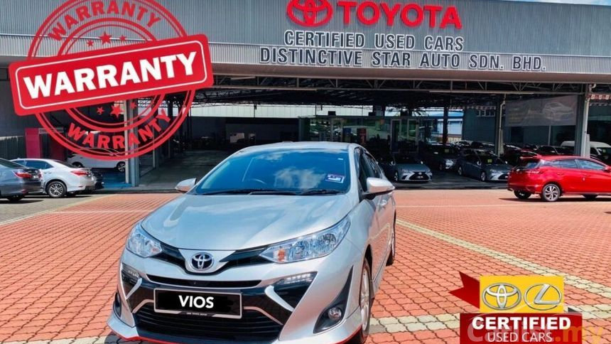 TOYOTA VIOS 1.5 (AT) FACELIFT - 2019