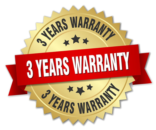 3-years-warranty-3d-gold-badge-with-red-