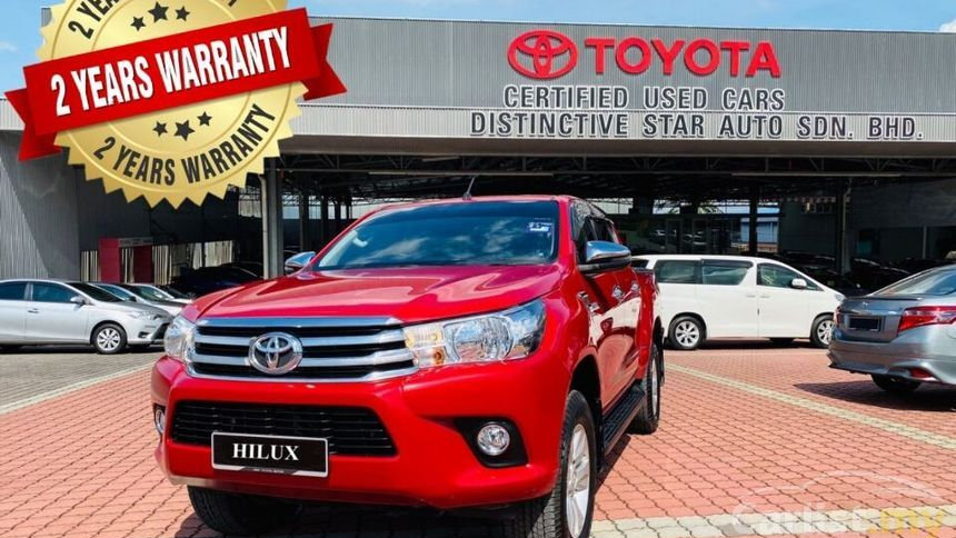 TOYOTA HILUX DC 2.4G (AT) 4x4