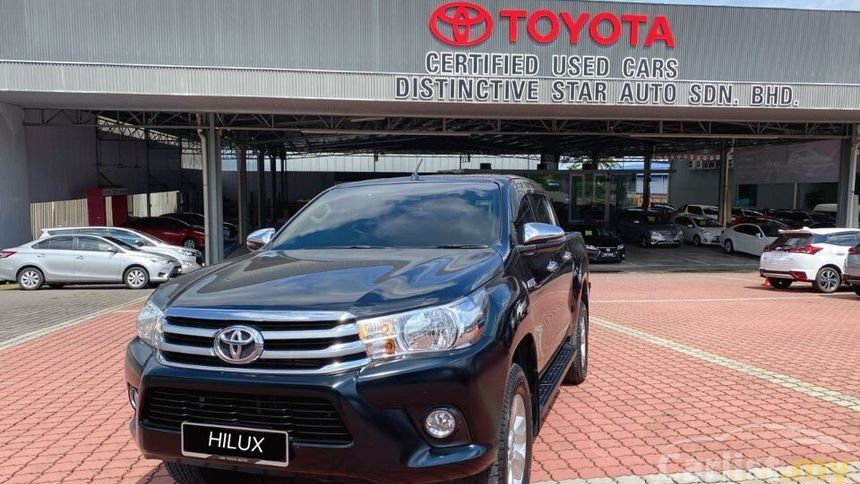 TOYOTA HILUX 2.4G (AT) 4x4 - 2017