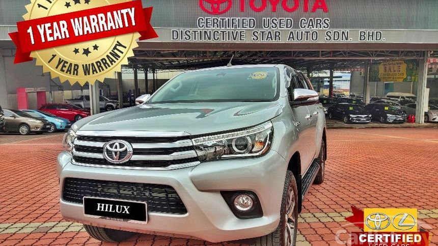 TOYOTA HILUX 2.8G (AT) 4x4 - 2016