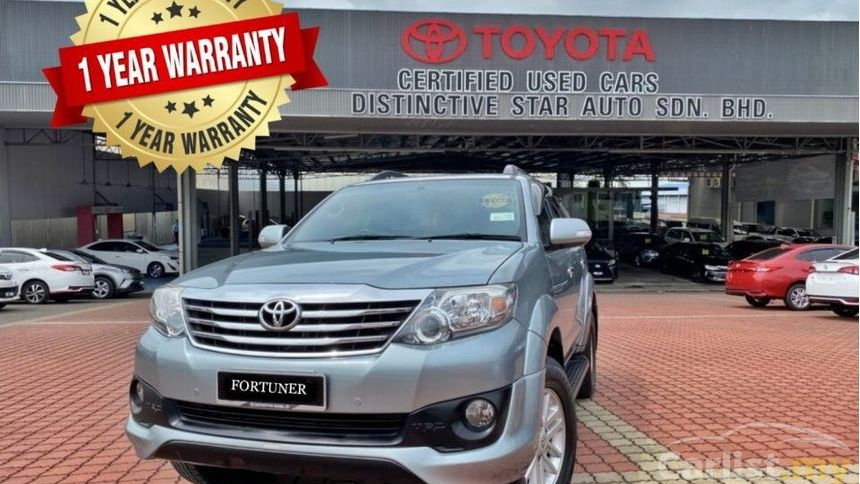 TOYOTA FORTUNER 2.7V (AT) - 2013