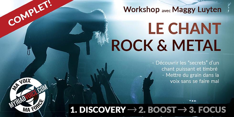 BE Dinant / Le chant ROCK & METAL ! / Module 1