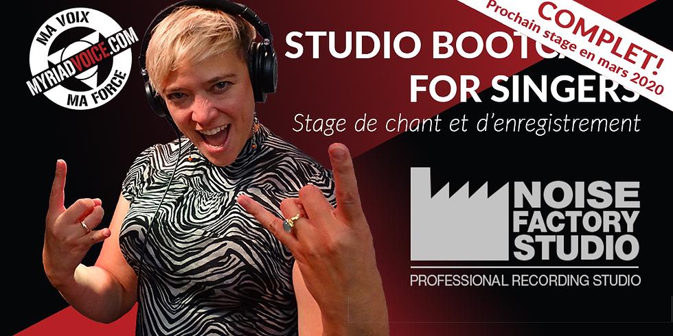 BE Namur / Studio Bootcamp 8 (COMPLET !!)