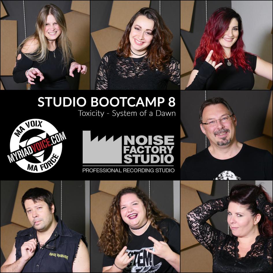 Studio Bootcamp 8